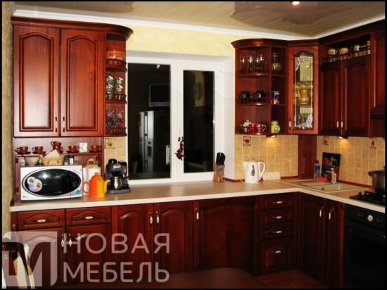Кухня из массива 25