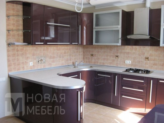 Кухня МДФ 21
