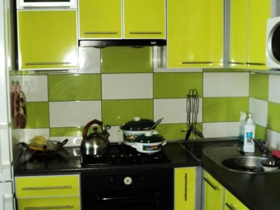 Кухня из пластика 17