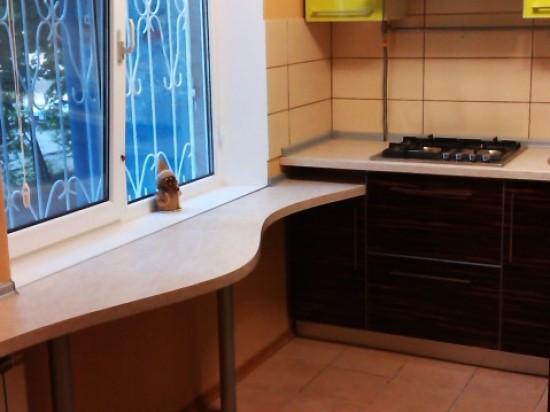 Кухня из пластика 20
