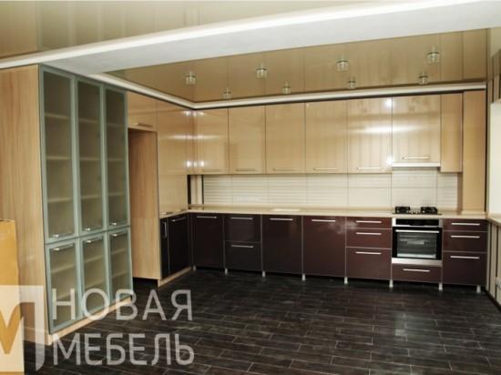 Кухня из пластика 22