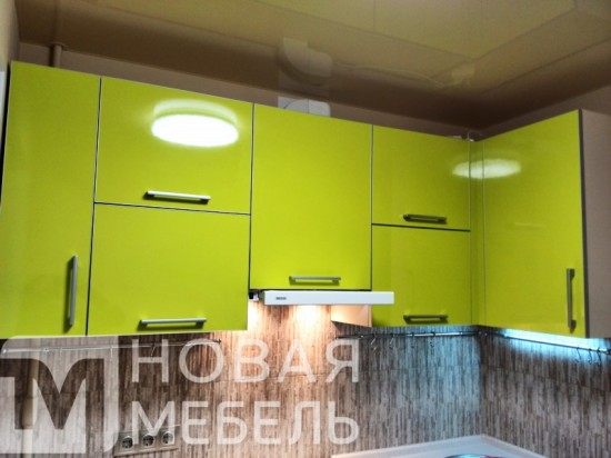 Кухня из пластика 27