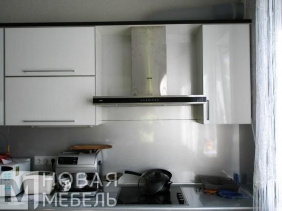 Кухня из пластика 42
