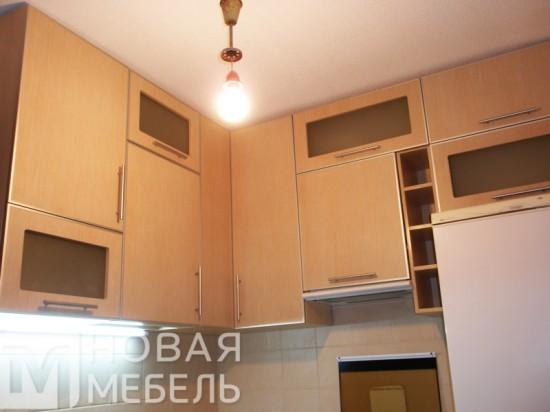 Кухня из пластика 43