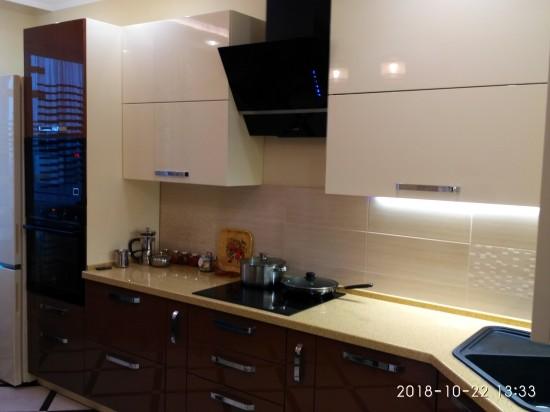 Кухня из эмали 71
