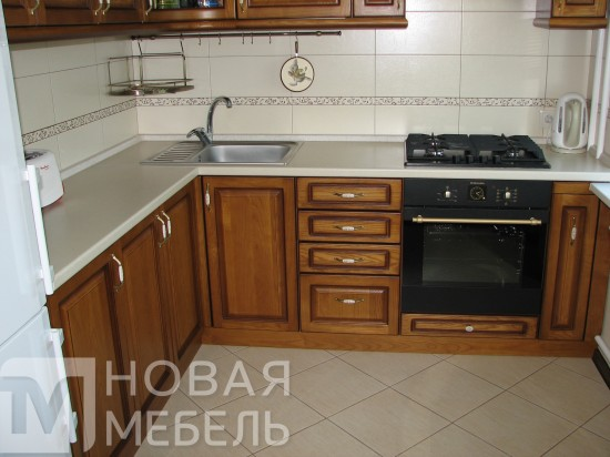 Кухня из массива 46