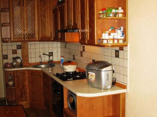 Кухня из массива 4