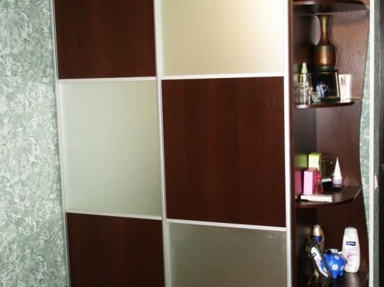 Встроенный шкаф 21